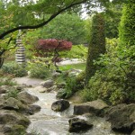 Jaapani aiaosa suuremas pargis Bonnis, Rheinauenpark.