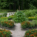 Lihtsa jaotuse ja kruusasõelmetega tarbetaimede aed Soomes Marketanpuistos.Värske roheline oma aiast. Kuidas planeerida_00008